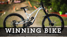 WINNING BIKE - Myriam Nicole's Commencal Supreme DH 29