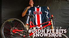 #USDH PIT BITS: Snowshoe World Cup