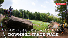 TRACK WALK - Snowshoe World Cup Downhill