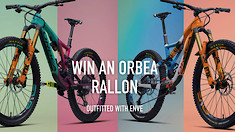Free Bike Day! Enter to Win a Custom Orbea Rallon Outfitted with ENVE Components