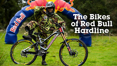 The Bikes of Red Bull Hardline