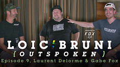 Loic Bruni's Outspoken - MTB Race Team Managers, Laurent Delorme and Gabe Fox