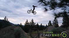 Bike Flying - Daily Shot
