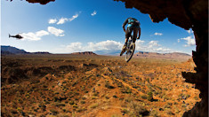 Gee Atherton Pulls out of Red Bull Rampage