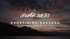 Race Face Creator Series: Redefining Success by Jake Frew