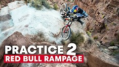 70-Foot Sends? Red Bull Rampage Practice