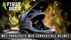First Ride: MET Parachute MCR Convertible Full Face Helmet