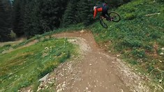 Fabio Wibmer Chased by Drone in Saalbach