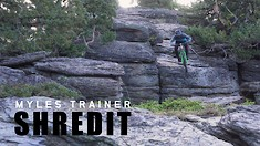 SHREDIT - Myles Trainer Tears It Up!