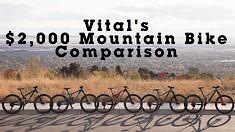 Vital MTB's $2,000 Mountain Bike Comparison