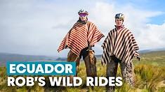 Rob's Wild Rides: High Altitude Hurt Locker in Ecuador