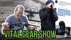 35mm Carbon Handlebars Flex Tested and More - Vital Gear Show