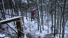 Brage Vestavik Won't Let a Little Snow, Mud, and Cold Get in the Way of Having Fun