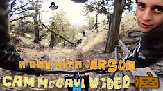 Laps With the Boys - Cam Mccaul and Carson W Storch Enjoy Some Winter Riding in Bend, OR