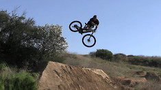 Self-Filmed and Sending It, Dylan Stark Gets Down at His Local Jump Spot