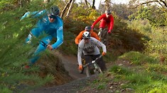 A Legendary Edit with Four Legends | Peaty, Warner, Longden and Page do Bike Park Wales