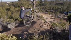 Cam McCaul Teaches Dusty Wygle Step-Down Backflips