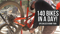 Getting 140 Bikes Ridden at the Specialized Demo Tour