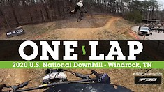 HELMET CAM - U.S. National Downhill Series - Windrock, Tennessee