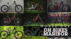 LAST YEAR - World Cup DH Bikes from Race #1
