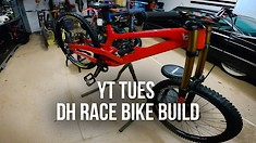 Cam Zink Builds and Rides His New YT Tues Race Bike