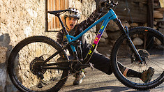 Pure Fun - Morgane Such Loves to Shred Her Marin Hawk Hill