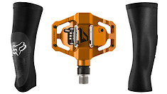 Fox Enduro Pro Knee Guards and TIME Speciale 8 Pedals Reviewed by Jenson USA Award Winner