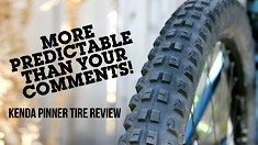 Aaron Gwin's New Kenda Pinner Tire - More Predictable Than Your Comments