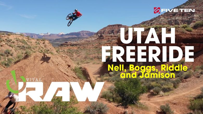 UTAH FREERIDE - Vital RAW - Nell, Boggs, Riddle and Jamison