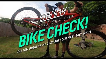 Bike Check: Danny Hart Gives All the Details on His Saracen Myst