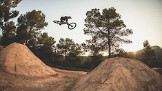 Nico Vink Builds and Shreds New Lines in La Fenasosa Bike Park