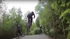 How Sick Are These Trails?! Rachel Atherton Pulls Laps With the Fellas