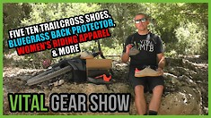 5.10 Trailcross Shoes, Bluegrass Back Protector, Women's Riding Apparel - Vital Gear Show