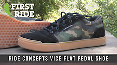 First Ride: Ride Concepts Vice Flat Pedal Shoe