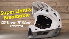 Super Light & Breathable! iXS Trigger FF Helmet Reviewed