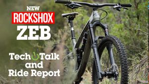 RockShox ZEB Fork TECH TALK & Ride Report