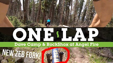 Dave Camp Abuses His New ZEB (and the Rest of His Bike) at Angel Fire