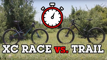 Which is Fastest? YT IZZO vs. XC Race Bike