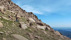 Riding the ZEB on Pikes Peak with Nate Hills