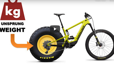 MTB Suspension - Unsprung Weight Explained