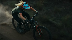 Casey Brown Masterfully Flying Down Trails