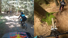 Who Rode Morzine Better; Danny Hart or Matt Jones?