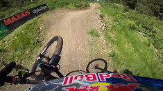 How Fast is Loic Bruni at Schladming?!