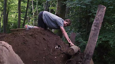 Planting Fresh Doubles in Brendan Fairclough's Jump Garden