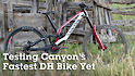 Testing Canyon's Fastest DH Bike Yet - New Sender CFR Unveiled