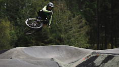 Jordie Lunn Bike Park's Massive Pumptrack