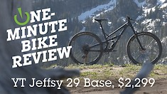 One-Minute Bike Review - YT Jeffsy 29 Base