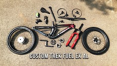 When Trail Meets Slopestyle - Cam McCaul's New Trek Fuel Bike Build