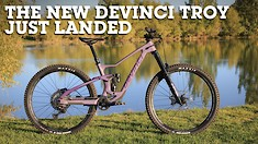 The New Devinci Troy Just Arrived (Literally!)