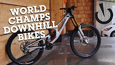 World Champs DH Bikes from Leogang